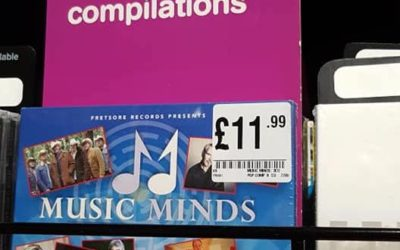 Music Minds in HMV High Wycombe…