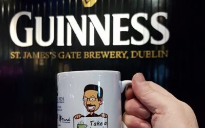 At the Guinness Storehouse…
